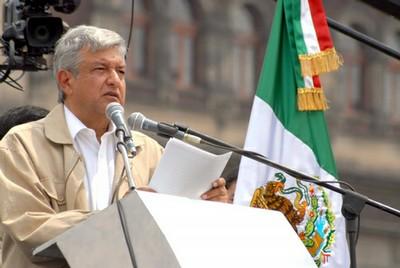 Discurso del Presidente Legítimo de México, Andrés Manuel López Obrador, durante la Asamblea Plenaria de la Convención Nacional Democrática, en el Zócalo